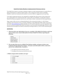 Membership Communication Preferences Survey Template (1)-1